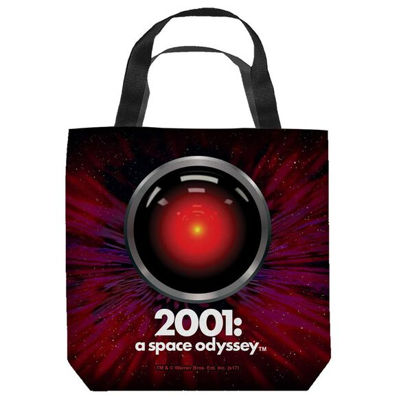 2001 A Space Odyssey Hal Eye Tote