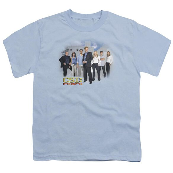 Csi Miami Cast Short Sleeve Youth Light T-Shirt