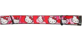 Hello Kitty Faces Hair Bows Mesh Belt