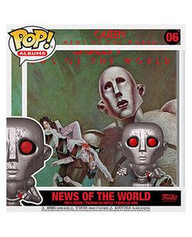 Funko Pop! Albums: Queen - News of the World (Metallic)