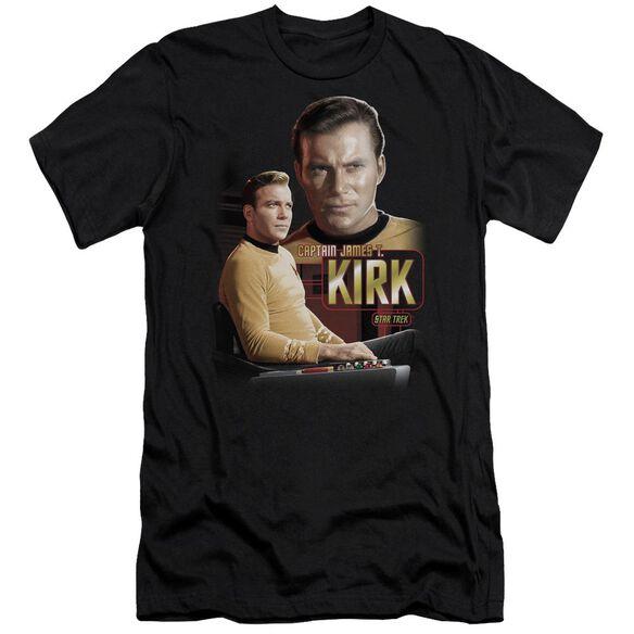 Star Trek Captain Kirk Short Sleeve Adult T-Shirt
