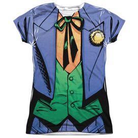 Batman Joker Uniform Short Sleeve Junior Poly Crew T-Shirt