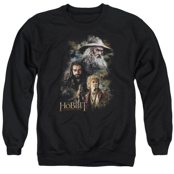 The Hobbit Painting Adult Crewneck Sweatshirt
