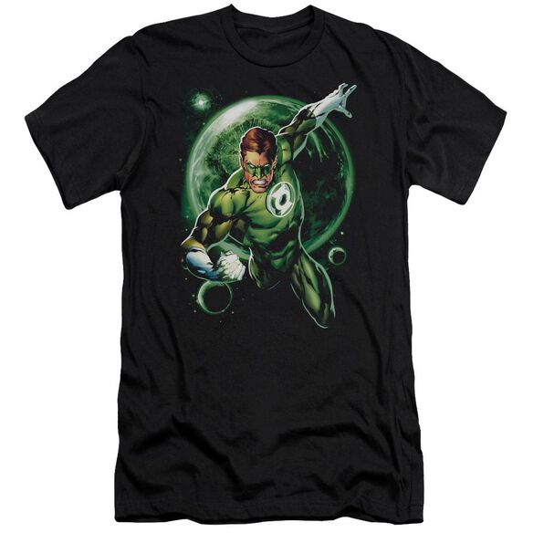 Green Lantern Galaxy Glow Premuim Canvas Adult Slim Fit