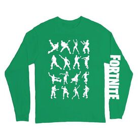 Fortnite Dance Dance Long Sleeve T-Shirt