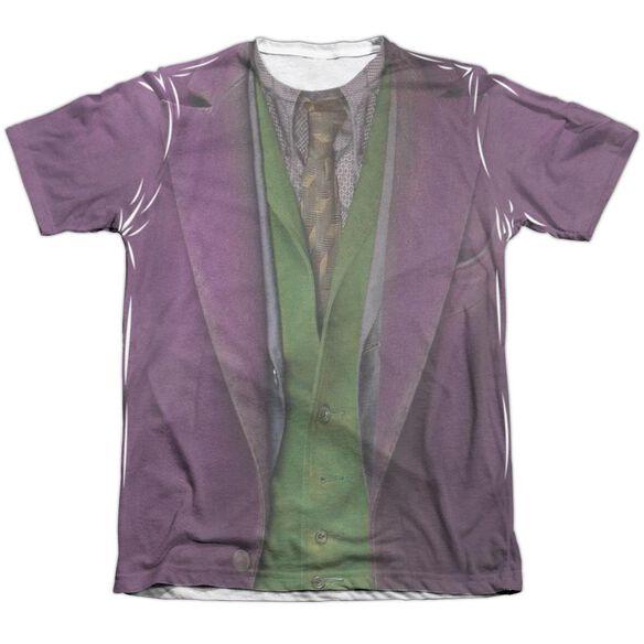 Dark Knight Joker Costume Adult Poly Cotton Short Sleeve Tee T-Shirt