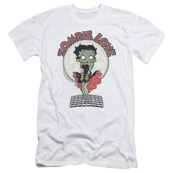 Betty Boop Breezy Zombie Love Short Sleeve Adult T-Shirt