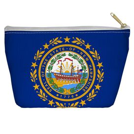 New Hamshire Flag Accessory Pouch