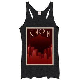 Kingpin Deco Fisk Tank Top Juniors T-Shirt