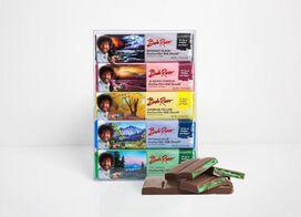 "Bob Ross ""Paint Your Tongue"" Chocolate Bar Gift Set"