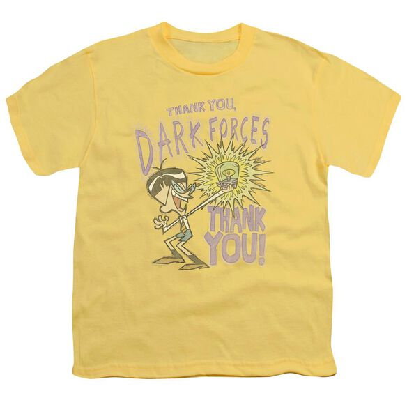 Dexter's Laboratory Dark Forces Short Sleeve Youth T-Shirt