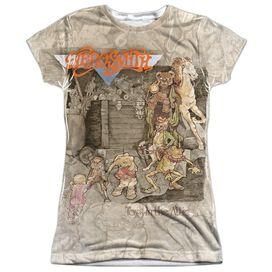 Aerosmith Toys In The Attic Short Sleeve Junior Poly Crew T-Shirt