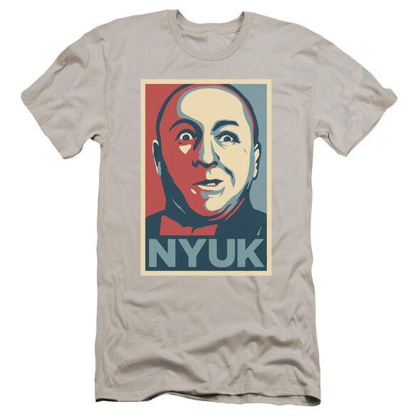 Three Stooges Nyuk Premuim Canvas Adult Slim Fit