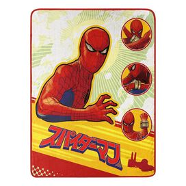 Warrior Spiderman Kanji Blanket