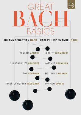 GREAT BACH BASICS - Johann Sebastian & Carl Philipp Emanuel Bach - 12 DVD BOX
