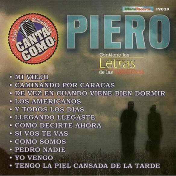 Pistas: Canta Como Piero