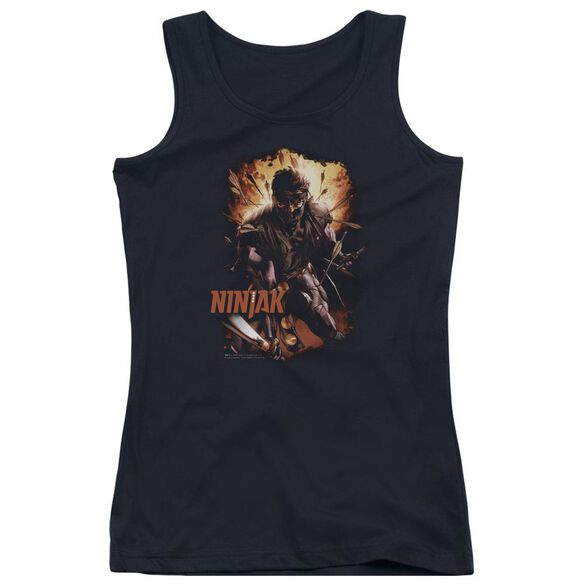 Ninjak Fiery Ninjak Juniors Tank Top