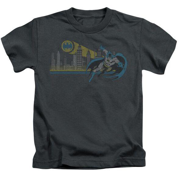 Dc Gotham Retro Short Sleeve Juvenile T-Shirt