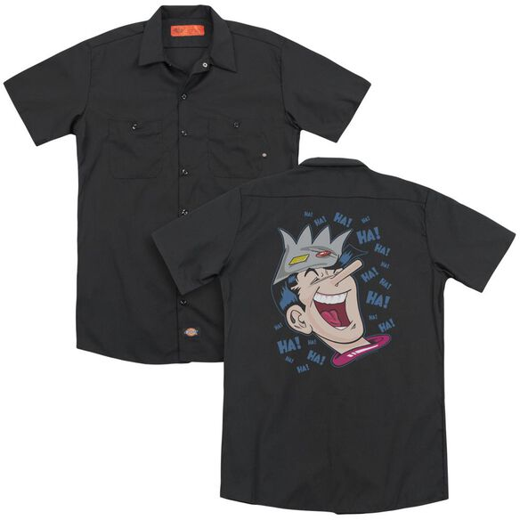 Archie Comics Laughing Jughead (Back Print) Adult Work Shirt