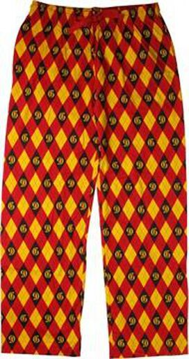 Harry Potter Gryffindor Argyle Lounge Pants