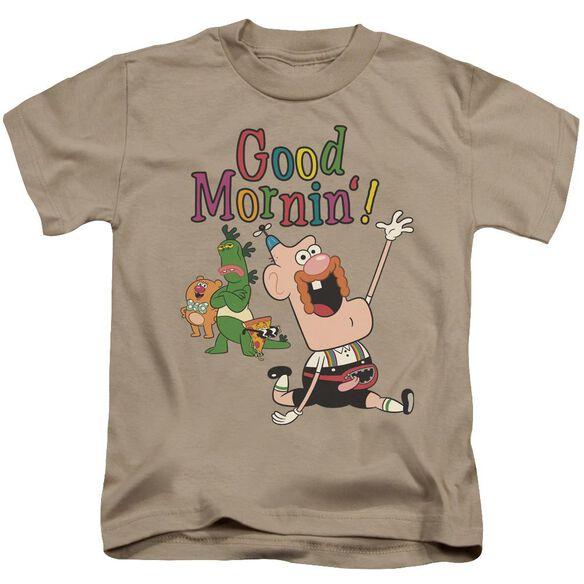 Uncle Grandpa Good Mornin Short Sleeve Juvenile T-Shirt