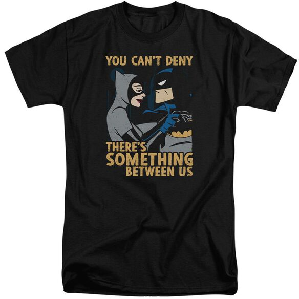 Batman The Animated Series Between Us Short Sleeve Adult Tall T-Shirt