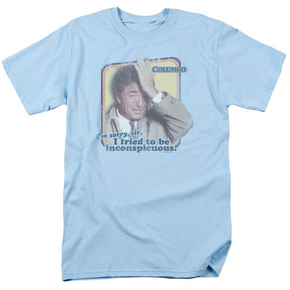 Columbo Inconspicuous Short Sleeve Adult Light T-Shirt