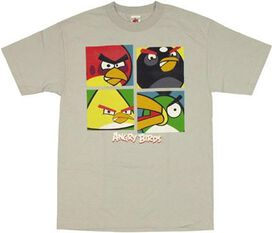 Angry Birds Boxes T-Shirt