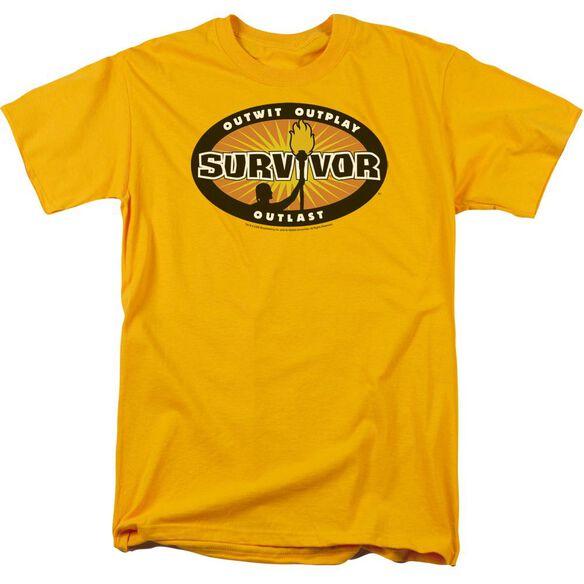 Survivor Burst Short Sleeve Adult T-Shirt