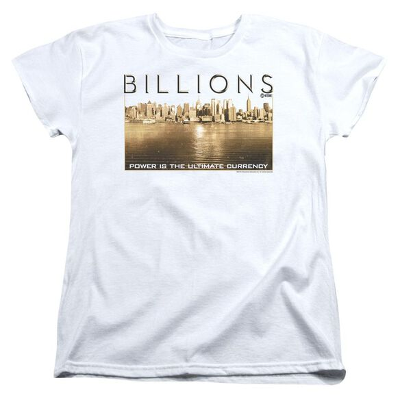 Billions Golden City Short Sleeve Womens Tee T-Shirt
