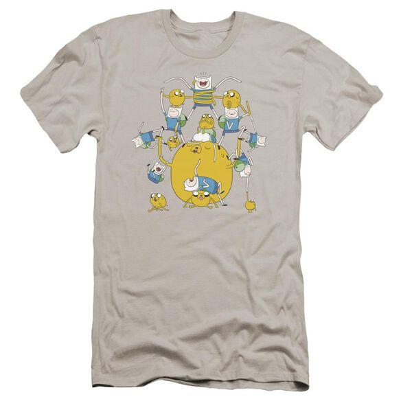 Adventure Time Finn&Jake Group Hbo Short Sleeve Adult T-Shirt