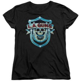 La Guns La Guns Shield Short Sleeve Womens Tee T-Shirt