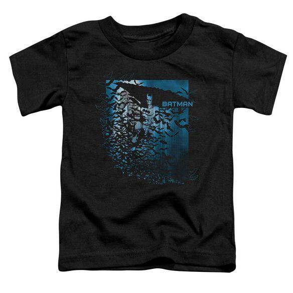 Batman Bat Among Bats Short Sleeve Toddler Tee Black Sm T-Shirt
