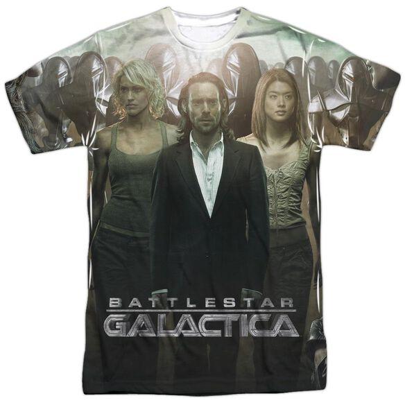 Bsg Destiny Walk Short Sleeve Adult Poly Crew T-Shirt