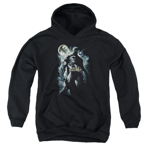 Batman The Knight Youth Pull Over Hoodie