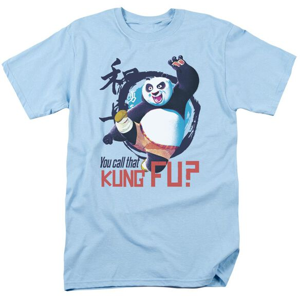 Kung Fu Panda Kung Fu Short Sleeve Adult Light T-Shirt