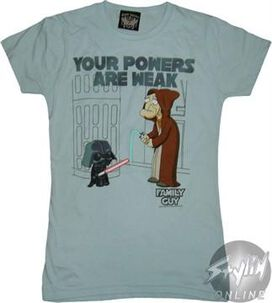 Family Guy Weak Powers Baby Tee