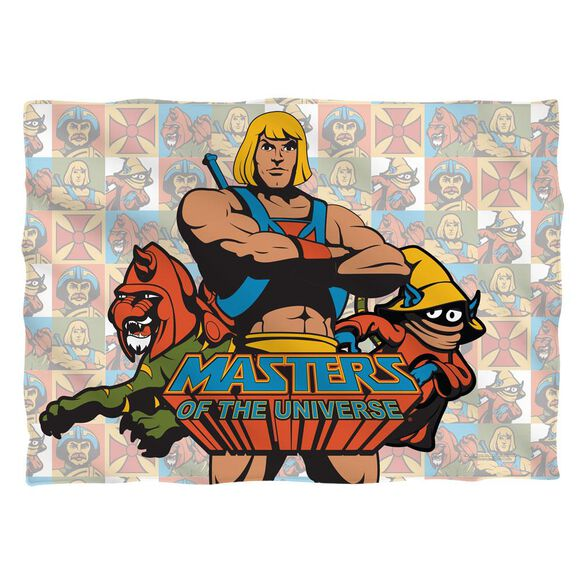 Masters Of The Universe Heroes (Front Back Print) Pillow Case