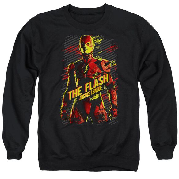 Justice League Movie The Flash Adult Crewneck Sweatshirt
