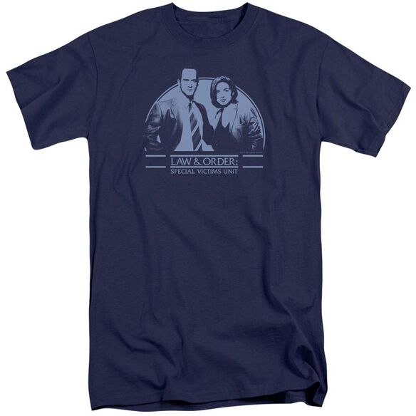 Law And Order Svu Elliot And Olivia Short Sleeve Adult Tall T-Shirt