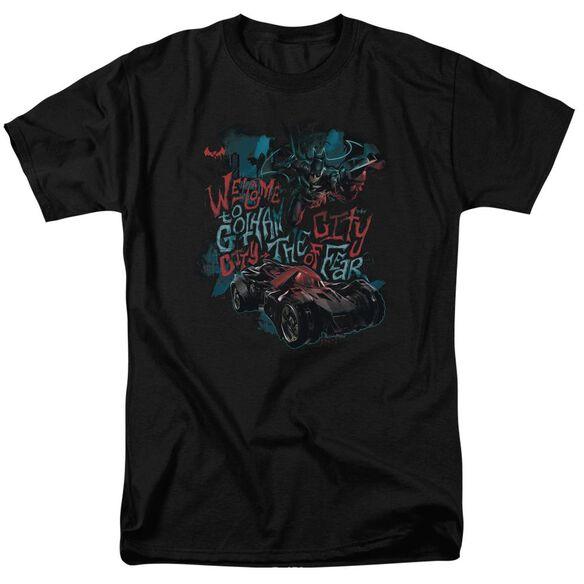 Batman Arkham Knight City Of Fear Short Sleeve Adult T-Shirt
