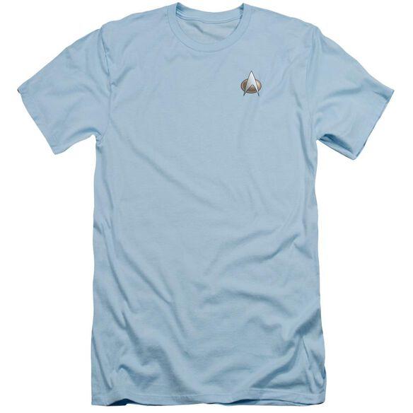Star Trek Tng Science Emblem Short Sleeve Adult T-Shirt