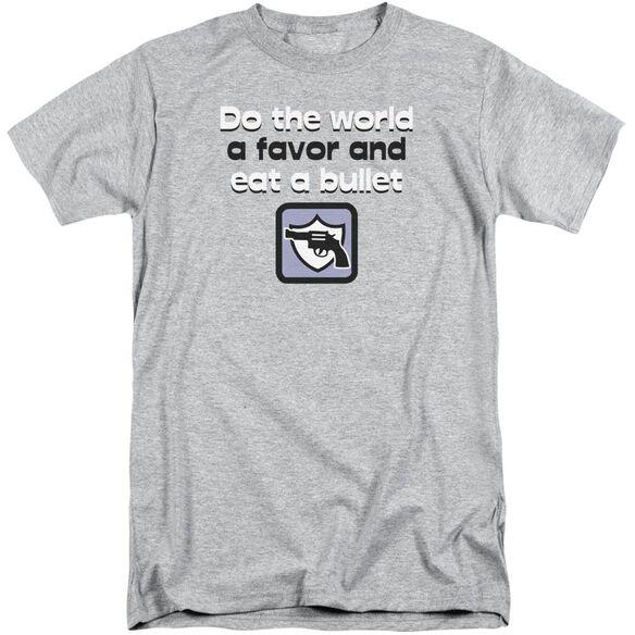 Eat A Bullet Short Sleeve Adult Tall Athletic T-Shirt