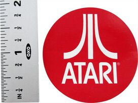Atari Red Sticker
