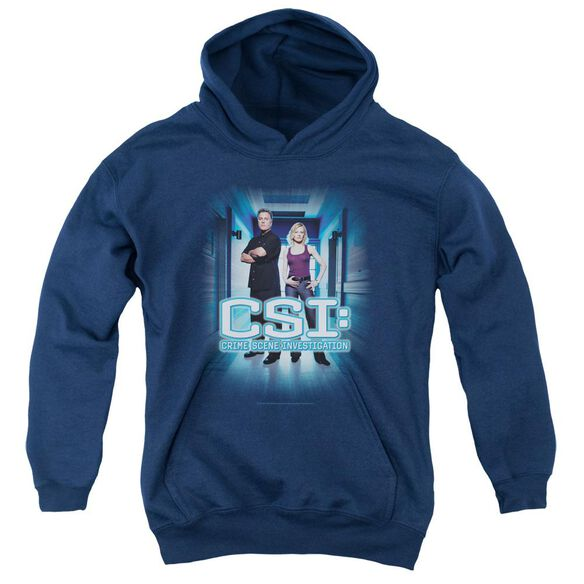 Csi Serious Business Youth Pull Over Hoodie