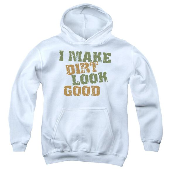 Dirt Look Good Youth Pull Over Hoodie