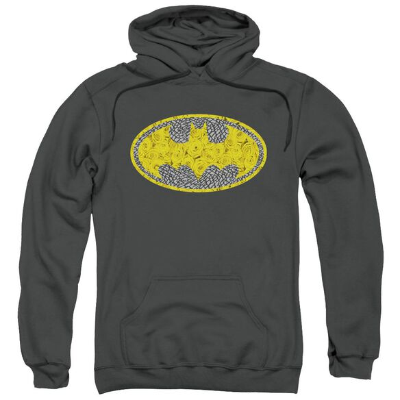 Batman Elephant Rose Signal Adult Pull Over Hoodie