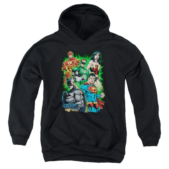 Jla Will Power Youth Pull Over Hoodie