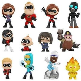 Funko Mystery Mini: Disney - Incredibles 2 Blindbox (One Random Figure Per Purchase)