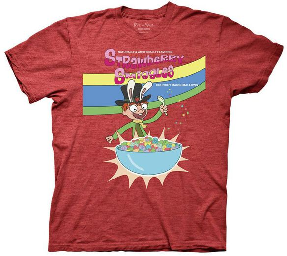 Exclusive Rick and Morty Strawberry Smiggles T-Shirt